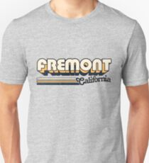 Fremont, CA | City Stripes Unisex T-Shirt