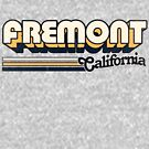 Fremont, CA | City Stripes by retroready