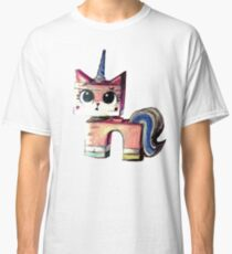 Unikitty Colored Pencil Drawing Classic T-Shirt