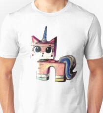 Unikitty Colored Pencil Drawing T-Shirt