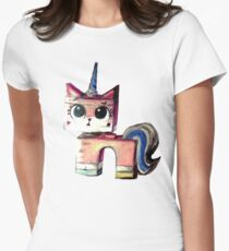 Unikitty Colored Pencil Drawing T-Shirt