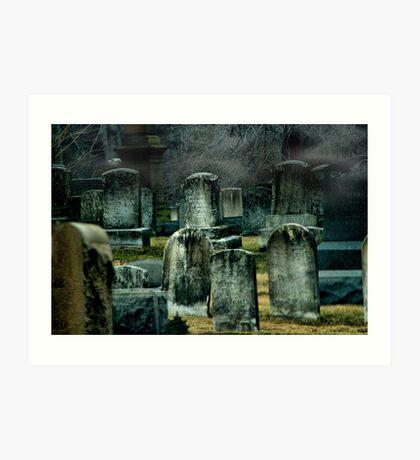 The Stones Art Print
