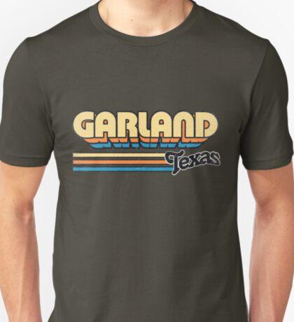 Garland, TX   City Stripes T-Shirt