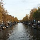October in Amsterdam  by Julie Masters