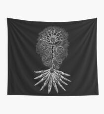 The Sephirothic Tree - Silver Edition Wall Tapestry