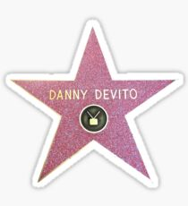 Danny Devito Hollywood Star Sticker