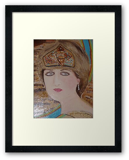 Princess Diana:  Sending her Love to Willy &  Kate on their Marriage: Sunilism by Sunil
