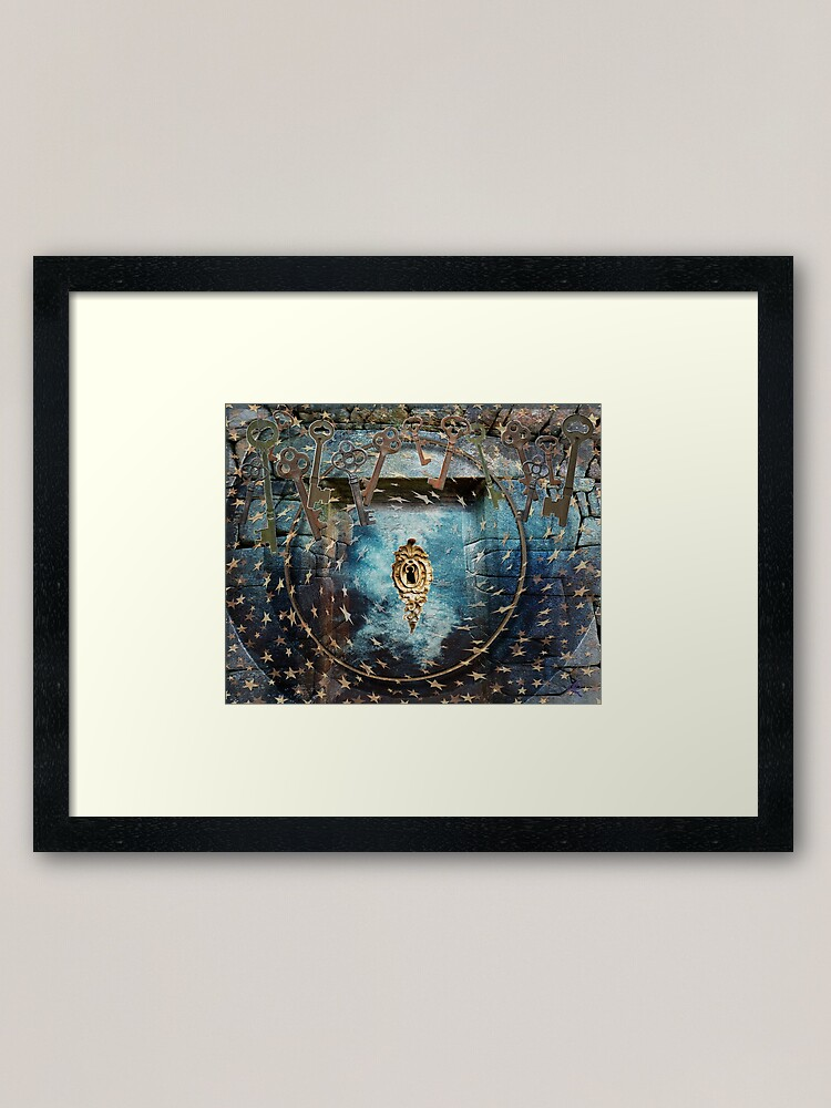 Alternate view of Bearer of the Keys Framed Art Print