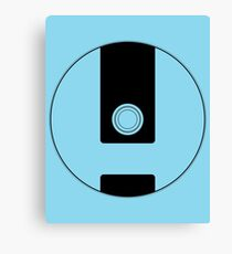 Wii Disc Outline Canvas Print