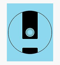 Wii Disc Outline Photographic Print