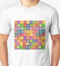 Coloured blocks T-Shirt