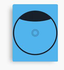 Wii U Disc Outline Canvas Print