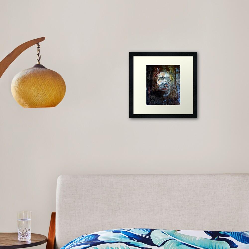 portrait of x Framed Art Print