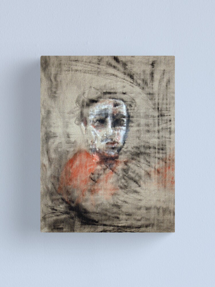 Alternate view of portrait of obscurity Canvas Print