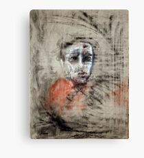 portrait of obscurity Canvas Print