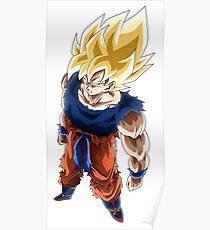 Dragon Ball Son Goku Super Saiyan Poster