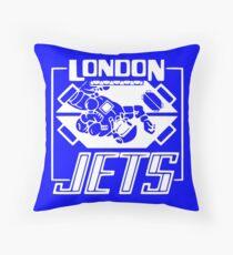 London Jets Zero G - Red Dwarf Throw Pillow