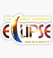 2017 Great American Eclipse Sticker