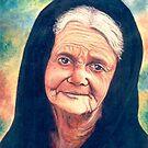 Religious lady by Joseph Barbara