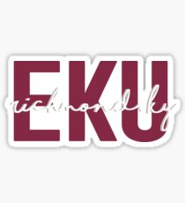 Eastern Kentucky University Sticker