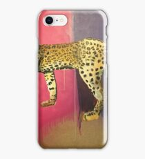 Leopard with head severed iPhone Case/Skin