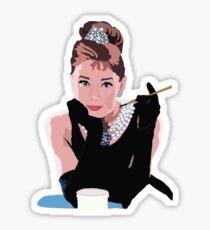 Breakfast at Tiffanys Sticker
