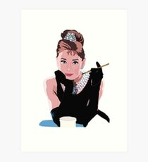 Breakfast at Tiffanys Art Print