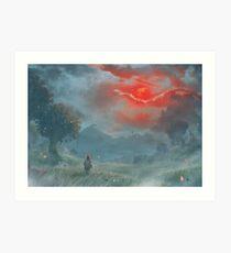 Blood Moon (2 WEEKS LEFT!!) Art Print