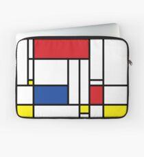 Mondrian Minimalist De Stijl Modern Art Laptop Sleeve