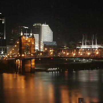 Cincinnati Bridge by animorphic