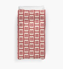 Red Double Happiness In A Simple Rectangle Frame, A Traditional Oriental Auspicious Symbol | Modern Chinese Wedding  Duvet Cover
