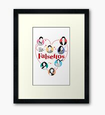 Broadway Falsettos Framed Print