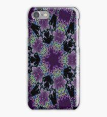 Purple kaliedascope iPhone Case/Skin