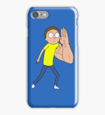 Morty's Giant Arm - Rick and Morty Armothy Design iPhone Case/Skin