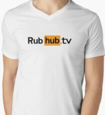 RubHub.TV - Rick and Morty Season 3 Men's V-Neck T-Shirt