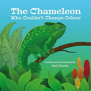 The Chameleon Who Couldn't Change Colour by dgcphoto