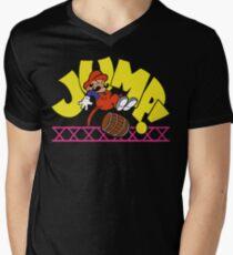 JumpMan! Men's V-Neck T-Shirt