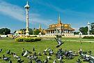 Cambodia Royal Palace Complex by Werner Padarin