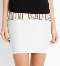 unruhe split Mini Skirt