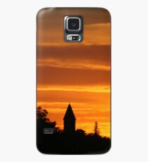 Golden Evening Silhouettes Case/Skin for Samsung Galaxy