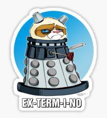 Grumpy Dalek Sticker
