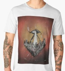War of the Worlds by H. G. Wells - Book Cover Men's Premium T-Shirt
