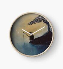 The Adventures of Huckleberry Finn by Mark Twain Clock