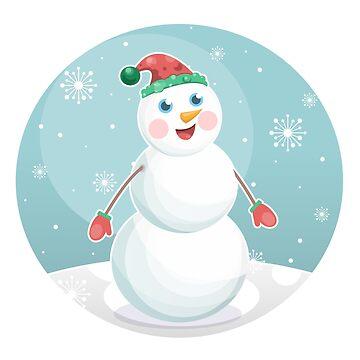 Snowman by mongja9