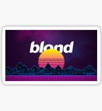 Frank Ocean - Blonde (Distorted) Sticker