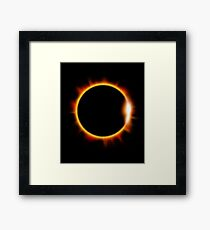 Total Solar Eclipse August 21 2017 Framed Print