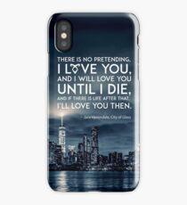 I Love You - Jace Herondale - Mortal Instruments iPhone Case/Skin
