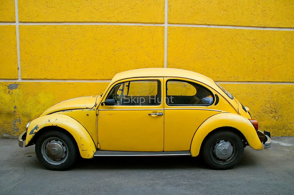 Yellow Bug by Skip Hunt