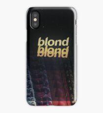 Frank Ocean - Blonde (x3) iPhone Case/Skin