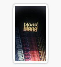 Frank Ocean - Blonde (x3) Sticker